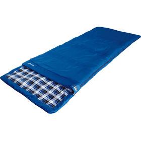 High Peak Highland Schlafsack links blau